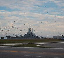 USS Alabama(BB60) by zpawpaw