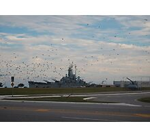 USS Alabama(BB60) Photographic Print