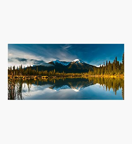 Vermillion Reflections Photographic Print