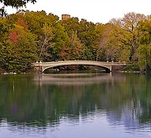 Bow Bridge by Rick Louie