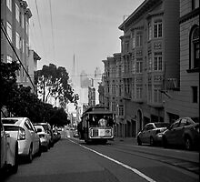 Washington Street Cable Car by Patrick T. Power