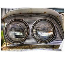 In the Headlights -1959 Ford Fairlane Poster