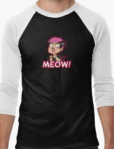Markiplier- Meow! Men's Baseball ¾ T-Shirt