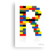 """""""R"""" Canvas Print"""