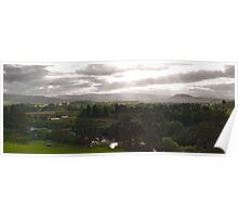 Macquarie Plains Panorama - Tasmania Poster