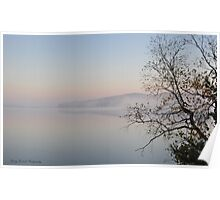 View over Lake of Bays Poster