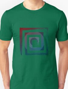 Spiral Square Unisex T-Shirt
