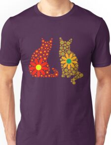 Flower Power Kitties T-Shirt