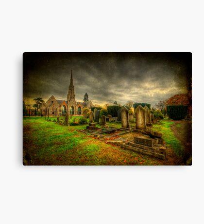 Graveyard Shift Canvas Print