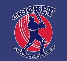 cricket player batsman batting greatest hits retro Unisex T-Shirt