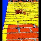 """Vertical Car Yard"" - phone by Michelle Lee Willsmore"