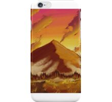 Sunset Mountains iPhone Case/Skin