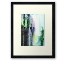 Falling waters 1 Framed Print