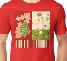 Modern Christmas, Modern holiday art Unisex T-Shirt