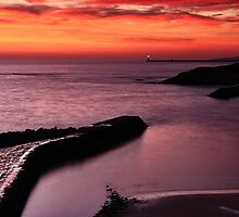 Cullercoats Sunrise 2 by Harry Purves