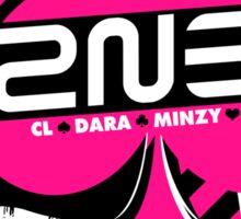 2NE1 Forever Blackjack Sticker