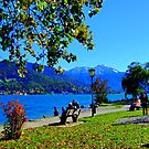 Lake Tegernsee Germany by Daidalos