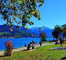 Lake Tegernsee Germany by Daidalos