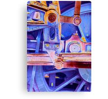 Steam Engineering Canvas Print