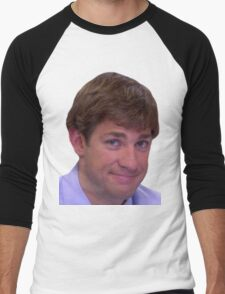 Jim's Smirk - The Office Men's Baseball ¾ T-Shirt