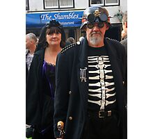 The Goth Weekend at Whitby, Oct 2011. 26 Photographic Print