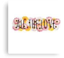 All the Love 3 Canvas Print