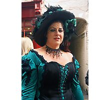 The Goth Weekend at Whitby, Oct 2011. 27 Photographic Print