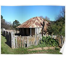 Louis Beyers Cottage, Hill End  Poster