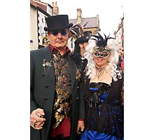 The Goth Weekend at Whitby, Oct 2011. 28 Photographic Print