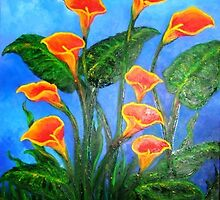 Lillies by wendy kernan