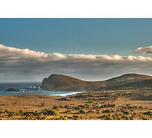 Brunie Lighthouse, a long way away Photographic Print