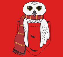 Pocket Hedwig One Piece - Short Sleeve