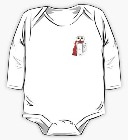 Pocket Hedwig One Piece - Long Sleeve