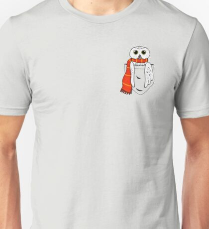 Pocket Hedwig Unisex T-Shirt