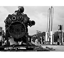 Rusty Power Photographic Print