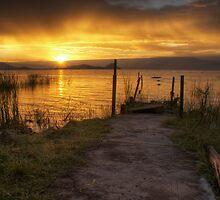 Lake Baringo Sunrise, Kenya by Karl Lindsay