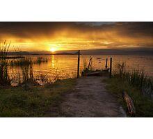 Lake Baringo Sunrise, Kenya Photographic Print