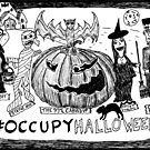 Occupy Halloween cartoon by bubbleicious