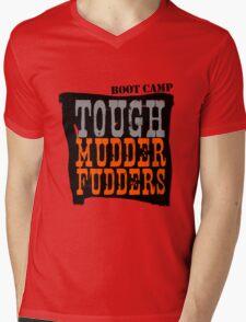 Tough MudderFudders Boot Camp Mens V-Neck T-Shirt