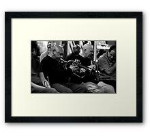 Harry Beckett and Lol Coxhill Framed Print