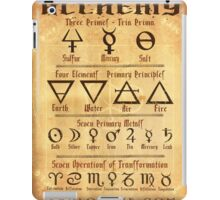 Alchemy Symbols iPad Case/Skin