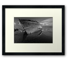 Reflections on Dereliction - Salen, Isle of Mull, Scotland Framed Print