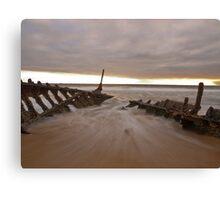 Sunrise at Dick Beach Canvas Print