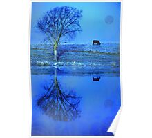 frosted pastures Poster
