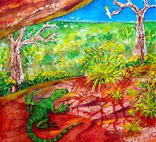Wattle season by Klara Ward