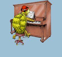 Piano Playing Turtle Art Unisex T-Shirt