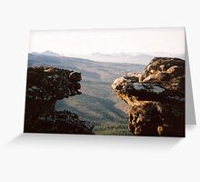 Reed Lookout Grampians National Park VIC Greeting Card