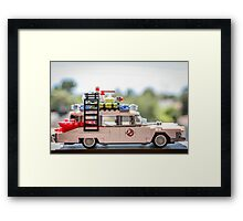 Ghost Rider Ecto 1 Framed Print