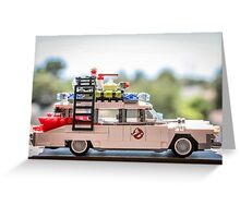 Ghost Rider Ecto 1 Greeting Card
