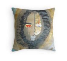 shaman tribe 2 Throw Pillow